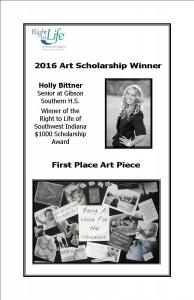 2016 art winner